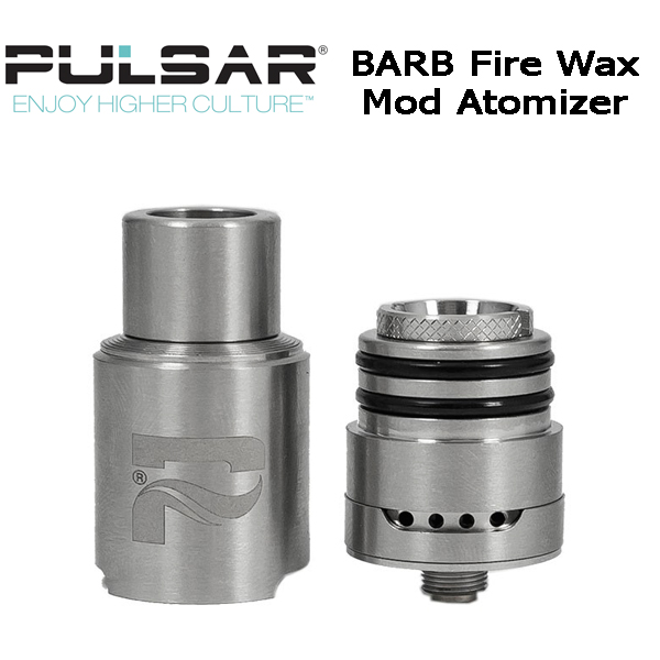 Pulsar Barb Fire Wax Mod Atomizer Double Ribbon Coil